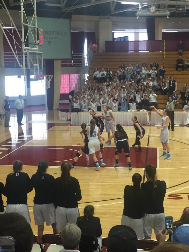Medfield Girls in Championship Action 3-18-2017
