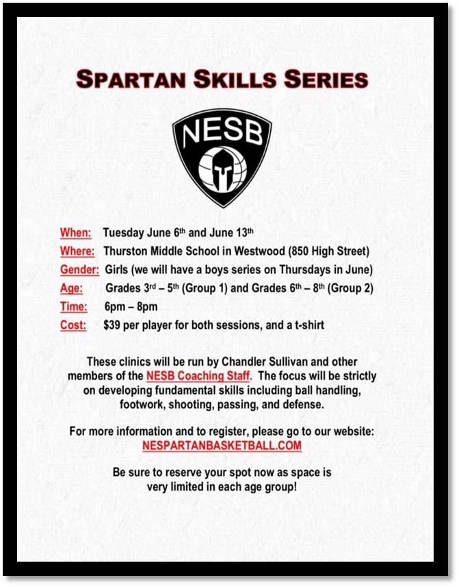 Spartan Skills Series - Girls 2